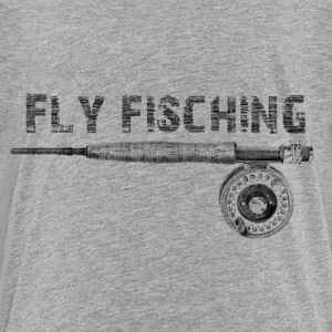 Angel fly fishing T-Shirts - Kinder Premium T-Shirt