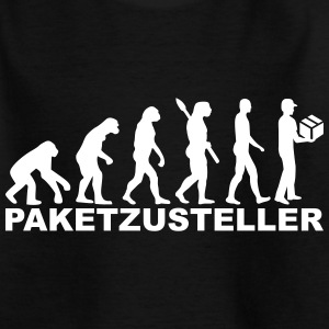 Evolution Paketzusteller T-Shirts - Kinder T-Shirt