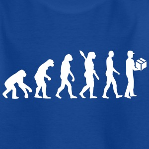 Evolution Paketbote T-Shirts - Kinder T-Shirt