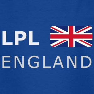 TEENAGER T-SHIRT LPL ENGLAND white-lettered - Teenage T-shirt