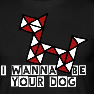 Twist   puzzle - I wanna be your dog - Men's T-Shirt
