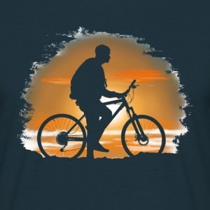 Bicycle trip Tee shirts - T-shirt Homme