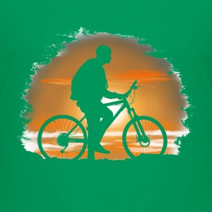 Bicycle trip Shirts - Teenage Premium T-Shirt