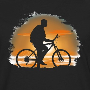 Bicycle trip Long sleeve shirts - Men's Premium Longsleeve Shirt