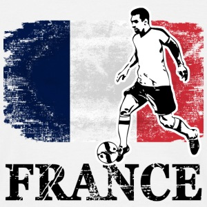 Soccer - Fußball - France Flag Tee shirts - T-shirt Homme