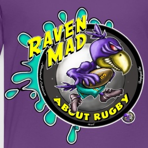 Kids Raven Mad Rugby - Kids' Premium T-Shirt