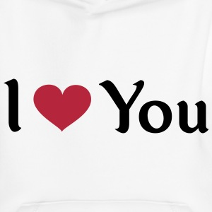 I love you auf Pullover & Hoodies - Kinder Premium Hoodie