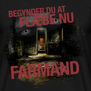 Farmand - Herre-T-shirt