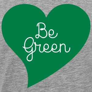 Be Green T-skjorter - Premium T-skjorte for menn