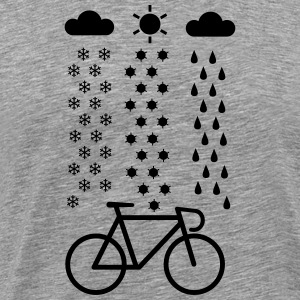 All Seasons Cyclist Tee shirts - T-shirt Premium Homme