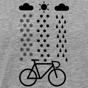 All Seasons Cyclist Camisetas - Camiseta premium hombre