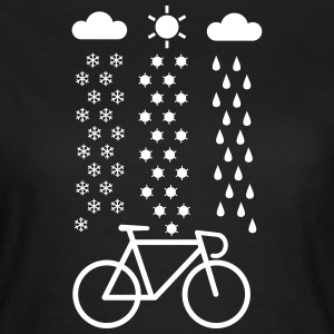 All Seasons Cyclist T-shirts - Vrouwen T-shirt