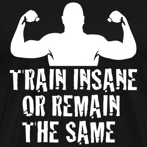 train insane T-shirts - Premium-T-shirt herr