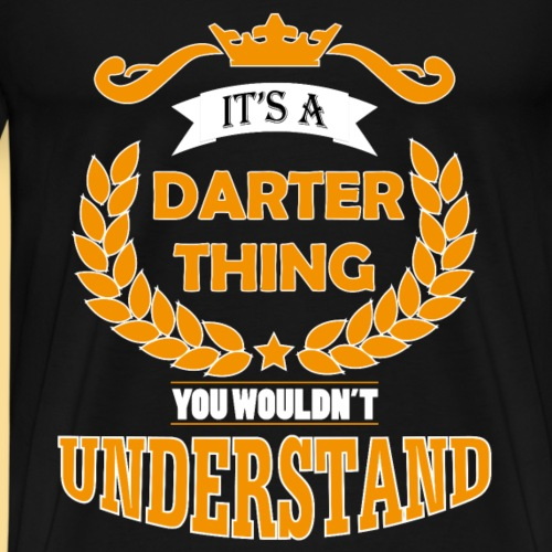 its a darter thing
