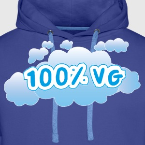 Vape Cloud 100% VG Sweat-shirts - Sweat-shirt à capuche Premium pour hommes