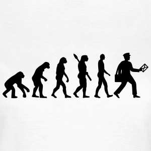 Evolution Briefträger T-Shirts - Frauen T-Shirt