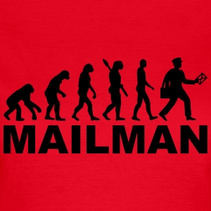 Evolution Mailman T-Shirts - Frauen T-Shirt