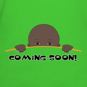 coming soon (black baby) - T-shirt Bio Femme