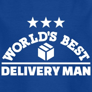 Best delivery man T-Shirts - Kinder T-Shirt