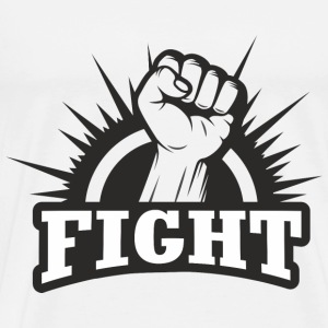 Fight Fist T-Shirts - Männer Premium T-Shirt