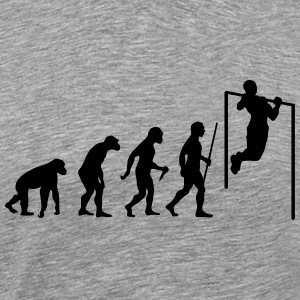 Evolution Pull Up Camisetas - Camiseta premium hombre