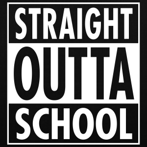 Straight Outta School Bags & Backpacks - Tote Bag