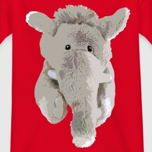 Kleiner Elefant - Kinder T-Shirt