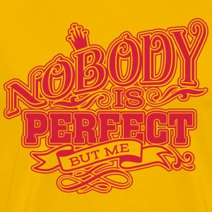 Nobody is perfect 2 T-Shirts - Männer Premium T-Shirt