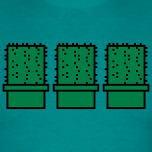 3 many pattern design pixel nerd geek gamer videog T-Shirts - Men's T-Shirt
