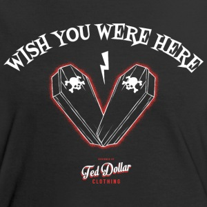 Wish you were here - Tee shirt contraste Femme