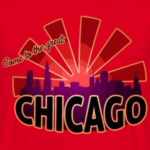 come to great chicago T-Shirts - Männer T-Shirt