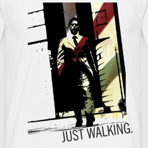 Just Walking | Keep Walking - Männer T-Shirt