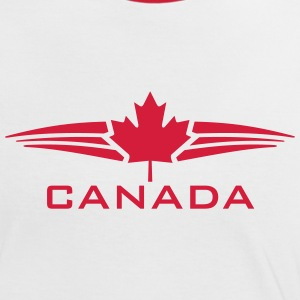 CANADA WINGS T-Shirts - Frauen Kontrast-T-Shirt