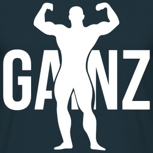 Gainz silhouette T-Shirts - Men's T-Shirt
