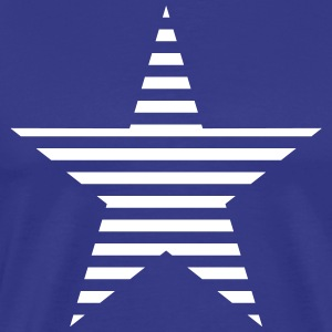 striped star T-Shirts - Men's Premium T-Shirt