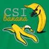 Kelly green CSI banana T-Shirts - Men's Premium T-Shirt
