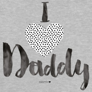 I Love Daddy Dotties Baby T-Shirts - Baby T-Shirt