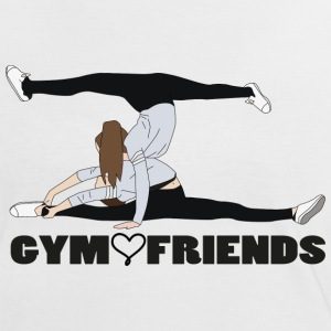 gym - Frauen Kontrast-T-Shirt