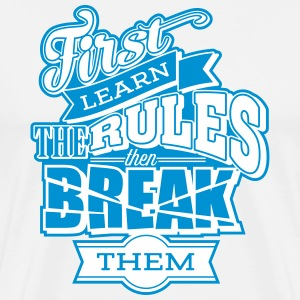 break the rules2 T-Shirts - Männer Premium T-Shirt