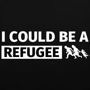 I could be a refugee Bags & Backpacks - Tote Bag