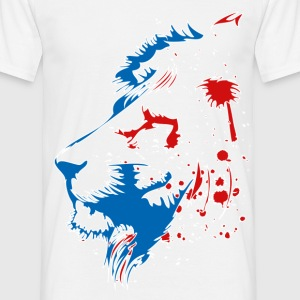 T-shirt France bleu blanc rouge: Lion BBR Design Tee shirts - T-shirt Homme