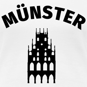 Münster T-Shirts - Frauen Premium T-Shirt