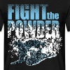 Fight the powder - T-shirt Homme