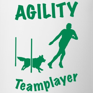 Agility Slalom Border Collie - Tasse