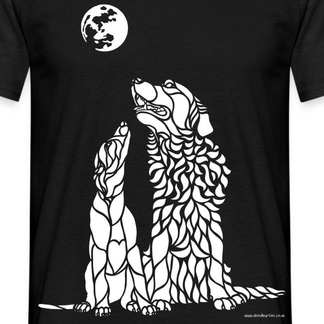 Saluki and Retriever t-shirt