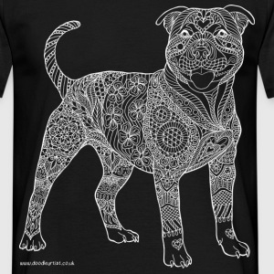 Staffy t-shirt - Men's T-Shirt