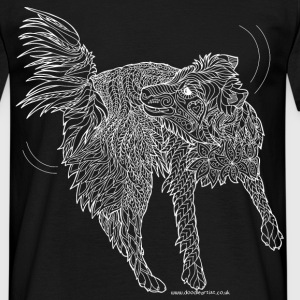 Border collie t-shirt - Men's T-Shirt