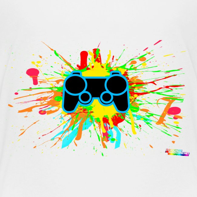 Teenager's Splatter Controller Shirt