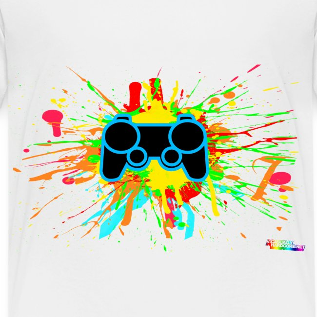 Kid's Splatter Controller Shirt