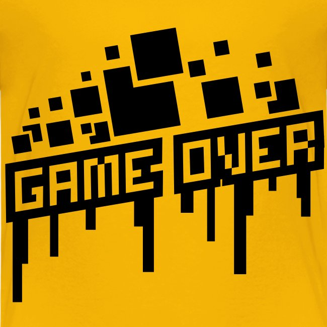 Kid's Game Over Shirt